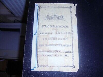 1881 Queen Victoria Programme, 1st & 2nd Army Corps, Windsor Great Park, Review