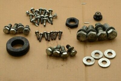 Ramvac Bulldog Suction Pump Bolts, Nuts, Washers