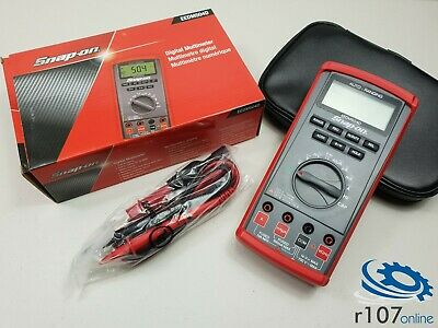 Snap On EEDM504D Auto-Ranging Digital Multimeter (Incl. VAT)