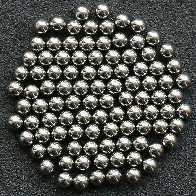 x100 Stainless Steel Ball Bearings 3mm (approx. - see description) UK stock