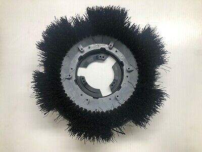 Powr - Flite 613S Bassine Scrub Brush with Clutch Plate 11""