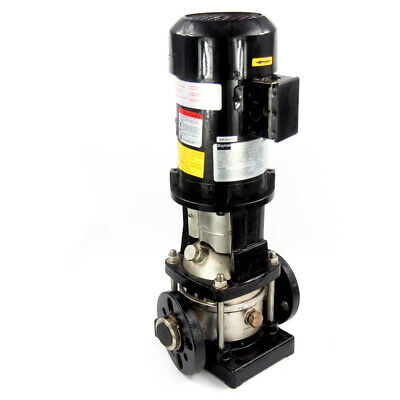 """Dayton 5UWK4 3/4 HP Multi-Stage Booster Pump 3-Ph 208-240/480VAC 1-1/4"""" IN/OUT"""