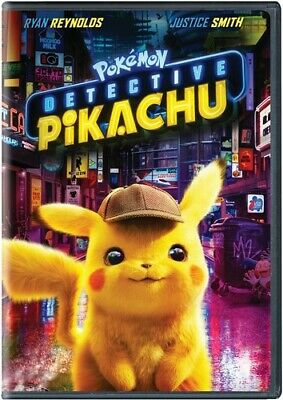 Pokemon Detective Pikachu - 2 DISC SET (2019, DVD NEUF) (RÉGION 1)
