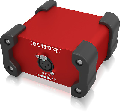 TC Electronic GLR Teleport High-Performance Active Guitar Receiver + Warranty