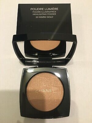 Chanel Poudre Lumiere 20 Warm Gold Neuf