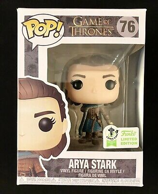 Funko Pop Game Of Thrones Arya Stark Eccc Emerald Comic Con Exc Official Sticker