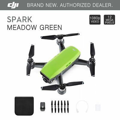 DJI Spark Meadow Green Quadcopter Mini Drone - 12MP 1080p Video Good Quality