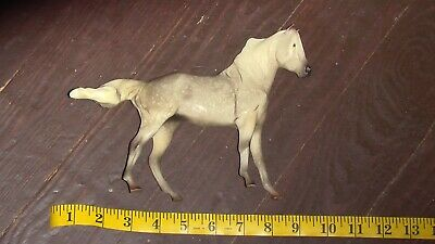 Vintage Breyer Reeves Molding Co Horse Traditional 6x9 inch Grey w/ white spots