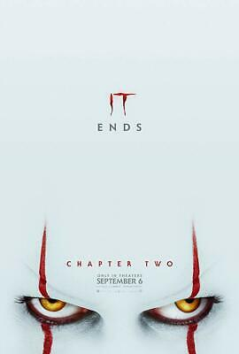 2019 It Chapter 2 Original Double Sided Movie Poster 27x40 Stephen King