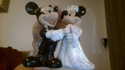 mickey and minne wedding cake topper