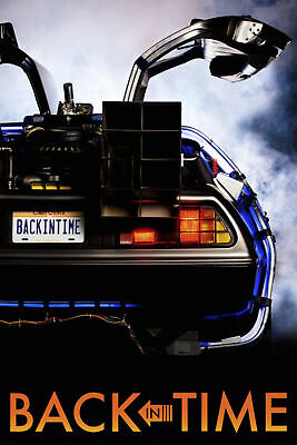 NEW BACK TO THE FUTURE CLASSIC Movie Art Silk Poster 12x18 24x36