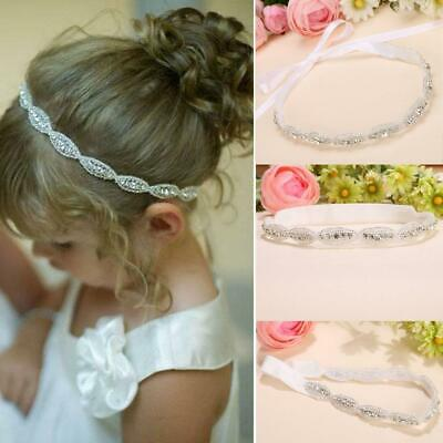 Children Baby Infant Princess Flower Girl Rhinestone Hair Band Headband SYL6 01