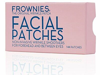 Frownies Forehead and Eyes 144 Facial Anti Wrinkle Patches. Original Wrinkle Smo