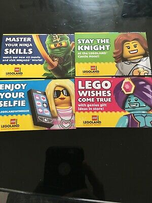 Legoland Tickets X 4 Valid any Day Until 29-10-19