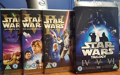 star wars trilogy dvd 6 disc Theatrical Remastered
