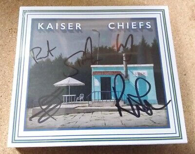 Kaiser Chiefs – Duck - Limited Edition CD in Slipcase - Autographed Signed