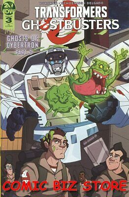 Transformers Ghostbusters #3 (2019) 1St Printing Scarce 1:10 Ri Variant Cover
