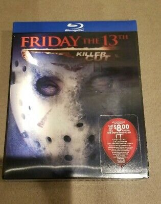 FRIDAY THE 13th KILLER CUT BLURAY BEST BUY EXCLUSIVE LENTICULAR SLIPCOVER OOS