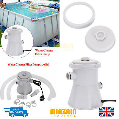 330GAL HS-630 Above Ground Swimming Pool Water Cleaner Filter Pump Electric 220V