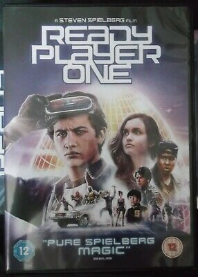 Ready Player One Dvd, From A Uk Shop And Only Watched Once