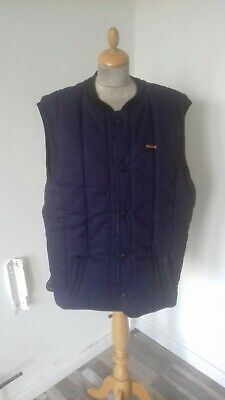 Barbour trekker Quilted  Windproof blue gilet waistcoat size L chest 46 Hunting