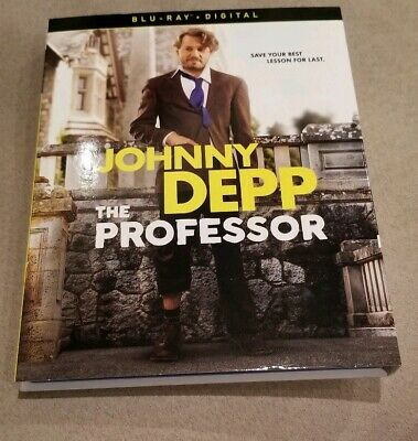 The Professor 2019 Single Disc Bluray W Slipcover No Digital Johnny Depp