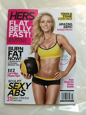 Muscle & Fitness Hers Magazine 2019 NEW Best Body-Weight Workouts FREE SHIPPING!