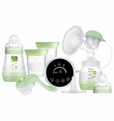 2 Modes /& 9 Levels of Suction Portable Pain Free Feeding Pump BABY STEPS Double Electric Breast Pump