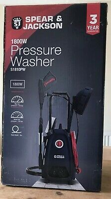 SPEAR AND JACKSON 1800W Pressure Washer S1810PW