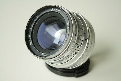 TESTED JUPITER 8 2/50 Russian USSR Lens Zorki Fed Leica M39
