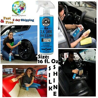 Chemical Guys Silk Shine Cleaner Protection Sprayable Dressing Car Accessories