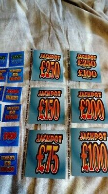 complete set of fruit machine decals for cops and robbers platinum