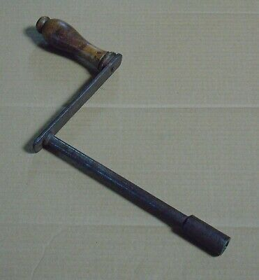 Victorian Winding Handle for Extending Wind Out Dining Table - 7/16ths Inches