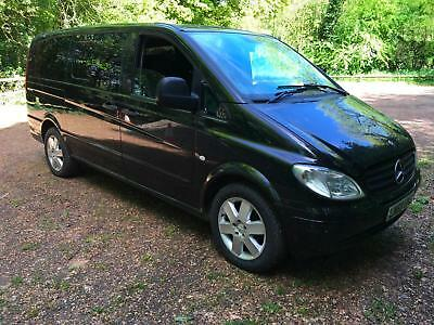 Mercedes-Benz VITO 111 CDI LONG 9 Seater Air Con Auto