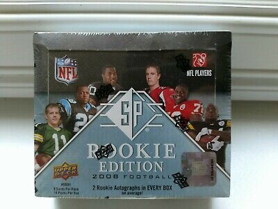 2008 Upper Deck SP Rookie Edition Football Hobby Box - Factory Sealed