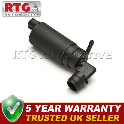 Windscreen Washer Pump Front Rear Fits Toyota Avensis (Mk1) 1.8