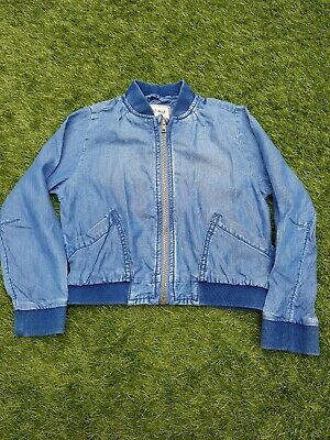 Next girls 5-6 years denim jacket - soft