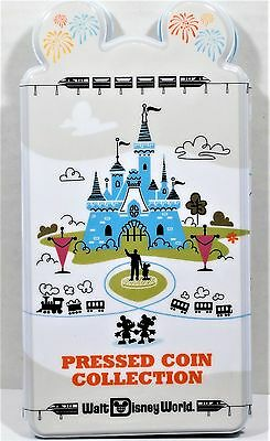 Walt Disney World Parks Pressed Penny Collection Book Coin Holder NEW RETIRED