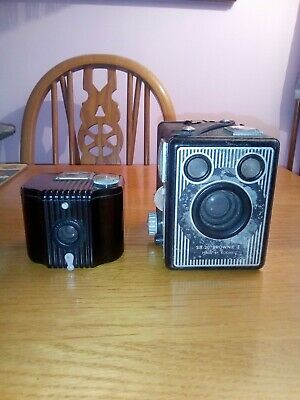 Two Lovely Vintage Brownie Cameras