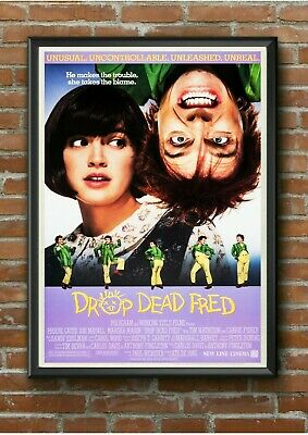 "Classic ""Drop Dead Fred"" 1990's Movie Film Poster Print Picture A3 A4 A5"