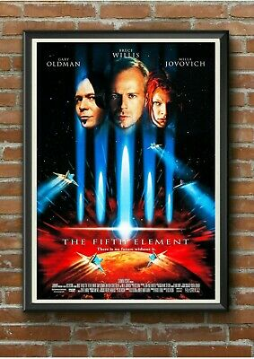 "Classic ""The Fifth Element"" 1990's Movie Film Poster Print Picture A3 A4 A5"