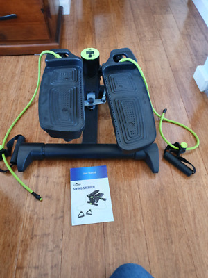 Mini Exercise Stepper with swing arm function