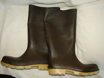 on sale ebe00 d4e53 TINGLEY RUBBER BOOTS Steel Toe MB924B Size 8 - $50.00 | PicClick