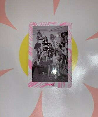 TWICE 7th Mini Album FANCY YOU FULL GROUP PREORDER photocard version C