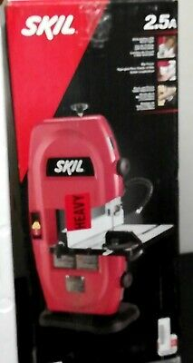 Skil Portable Band Saw 9 in 2.5 Amp Corded Electric Built-In Light Dust Port