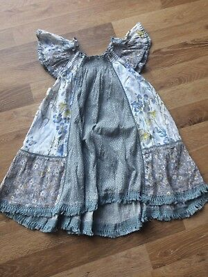 Next Girls Floral Summer Top 3-4 Years