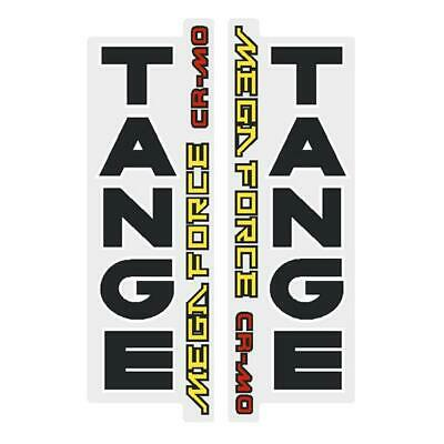 Tange TX500 YELLOW EARLY fork decal set old school bmx