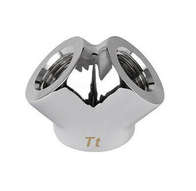New  Thermaltake Cl-W054-Cu00sl-A Hardware Cooling Accessory Chrome