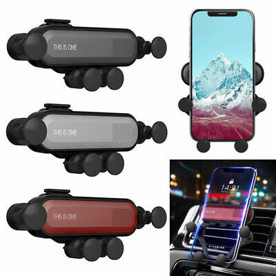CA Universal 360° Gravity Car Air Vent Mount Holder Stand Mobile Cell Phone GPS