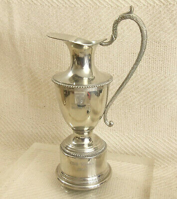 Vintage Rover Automobilia Silver Plated ROVER CUP Trophy Claret Jug Pitcher